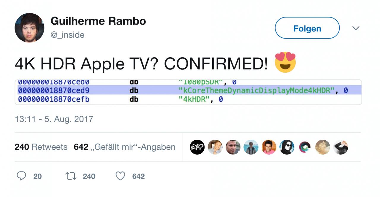 In der HomePod-Firmware stecken zahlreiche Informationen über andere bislang unveröffentlichte Apple-Produkte – von Apple TV bis hin zum iPhone 8.