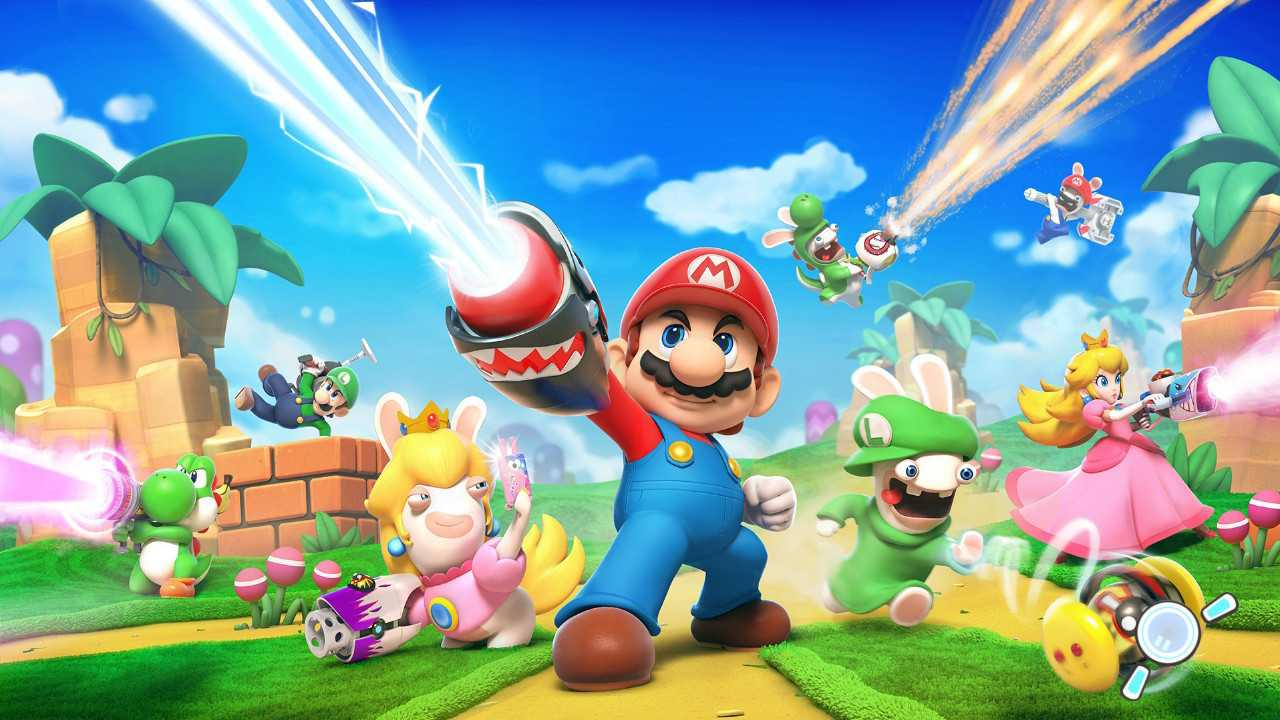 Mario + Rabbids Kingdom Battle angespielt: Klempner kloppt Karnickel
