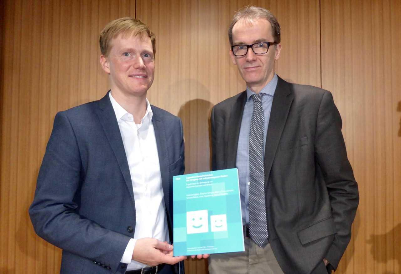 Niels Brüggen (l.) und Uwe Hasebrink