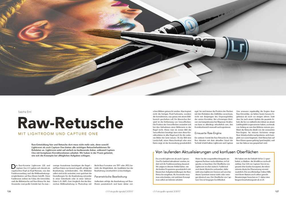 Raw-Retusche in c't Fotografie