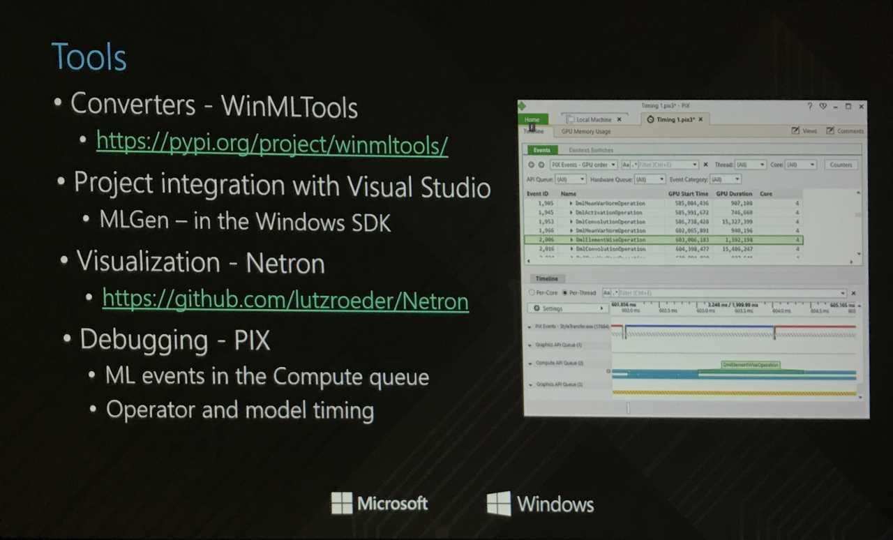 Microsoft veröffentlcht für Windows ML zahlreiche Werkzeuge.