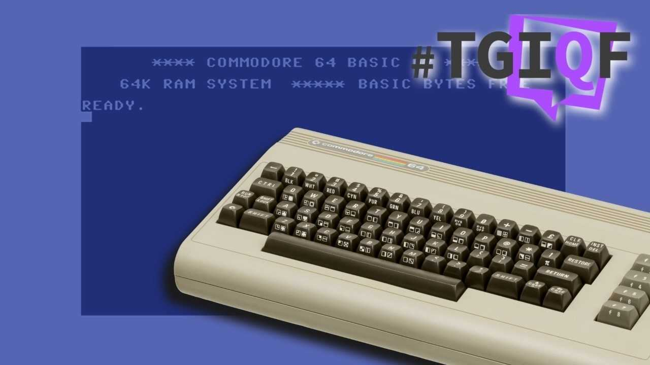 "#TGIQF - das Quiz zum ""Brotkasten"" C64"