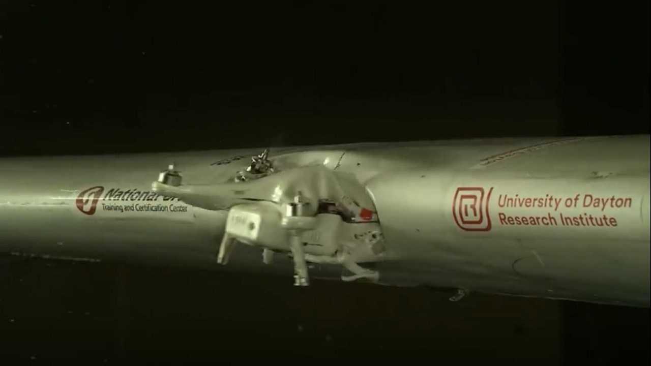 Kontroverse um Drohnen-Kollisionstest