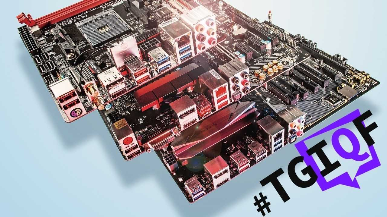 #TGIQF - das Quiz rund ums Mainboard