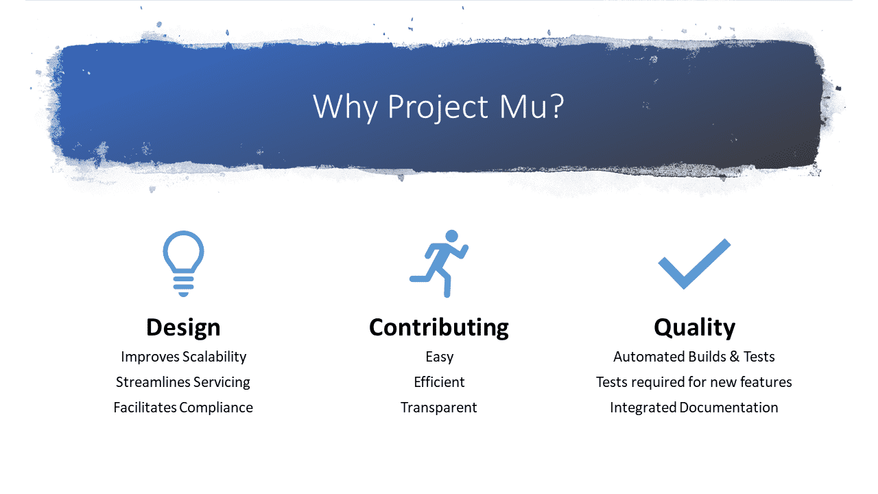 Project Mu: Microsoft stellt alternative UEFI-Implementierung vor