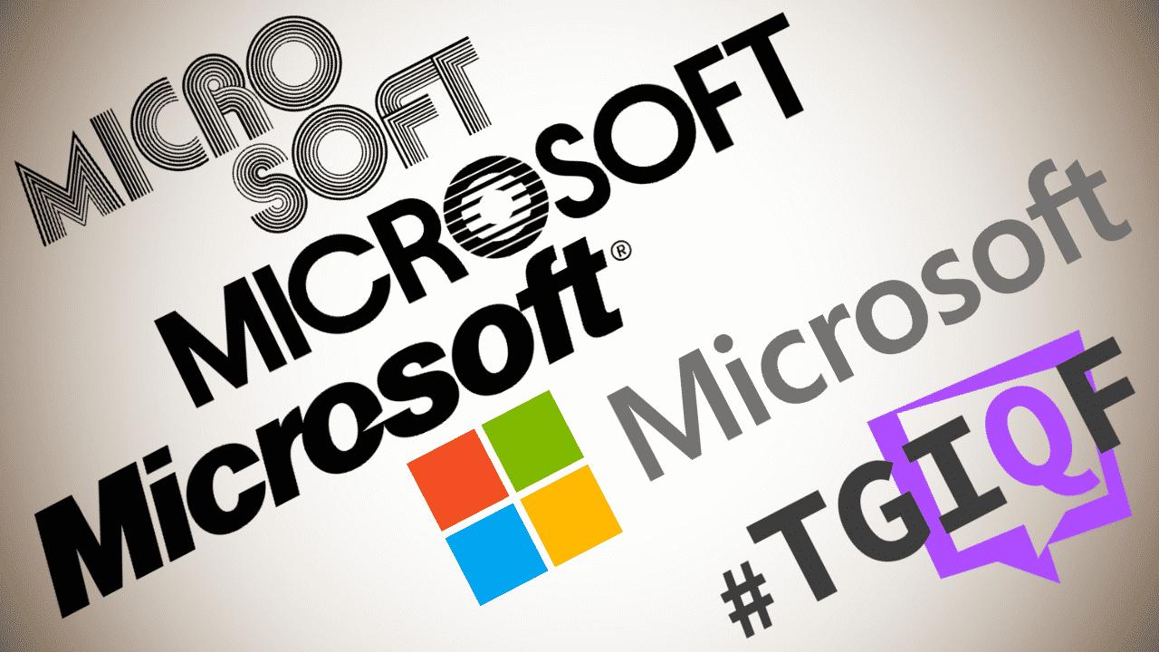#TGIQF - das Quiz: eine kurze Microsoft-Geschichte