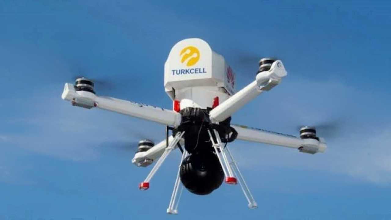 Turkcell-Drohne 5G