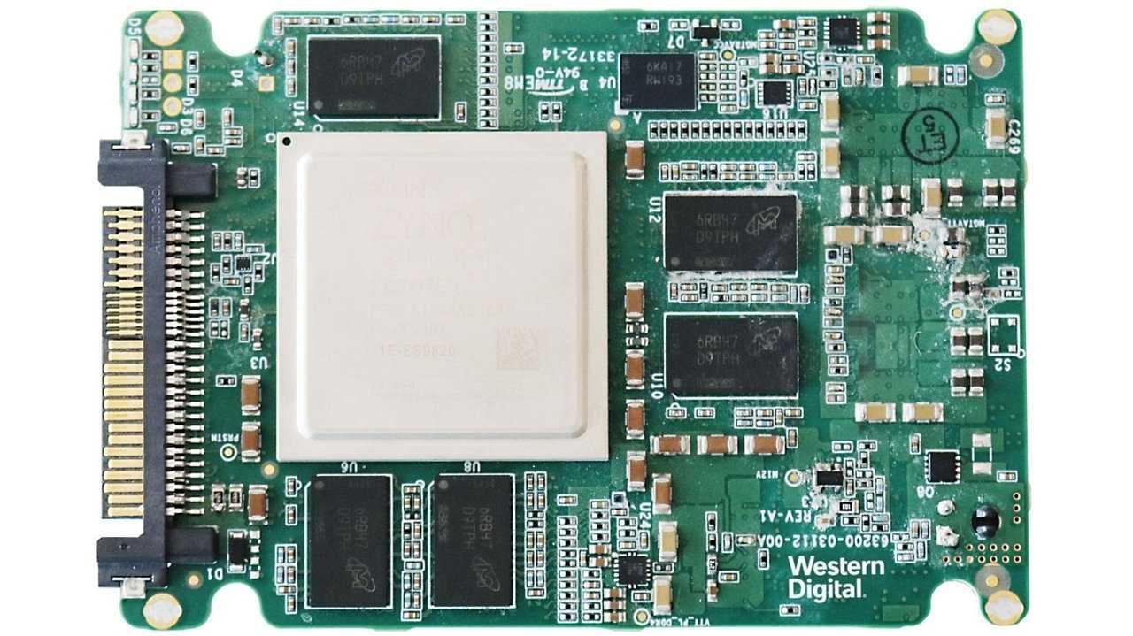 Machine Learning Accelerator in U.2-Bauform von Western Digital (WD)