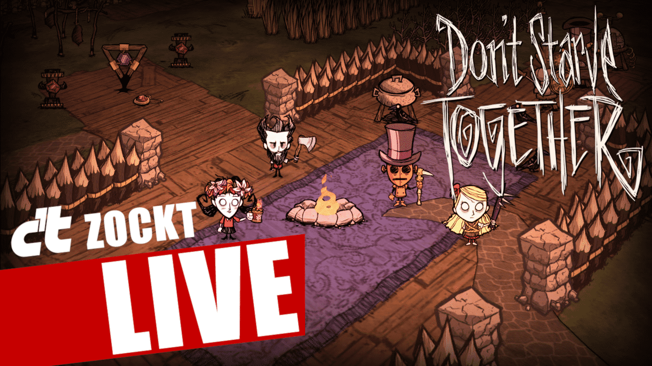 Don't starve together bei c't zockt