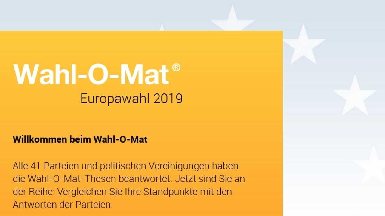 Einigung im Streit um Wahl-O-Mat – Schnell wieder online
