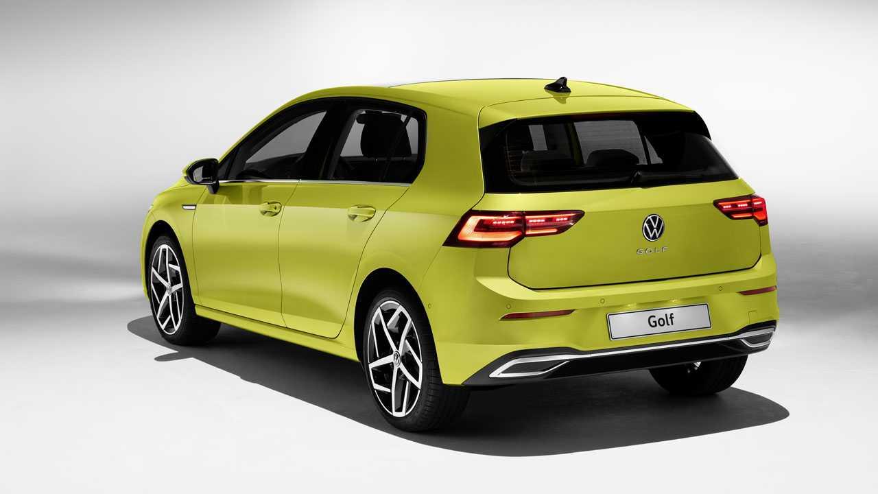 VW Golf 8 Heck
