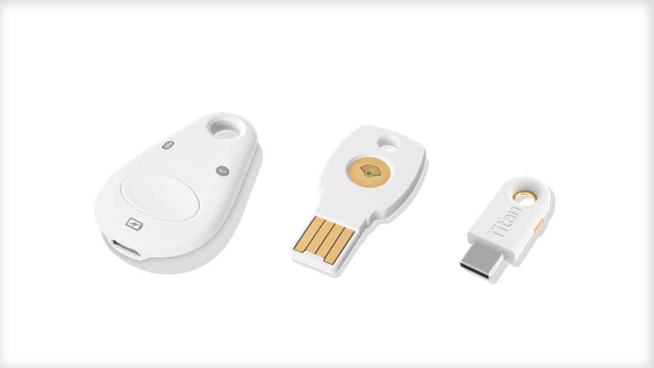 Googles Titan Security Key nun auch in Deutschland verfügbar