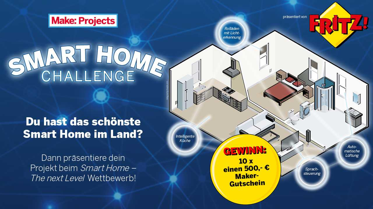 AVM Smarthome Challenge Info Banner