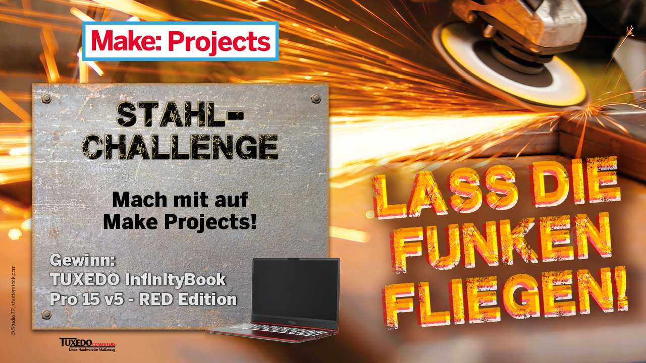 Make Projects Stahl-Challenge.