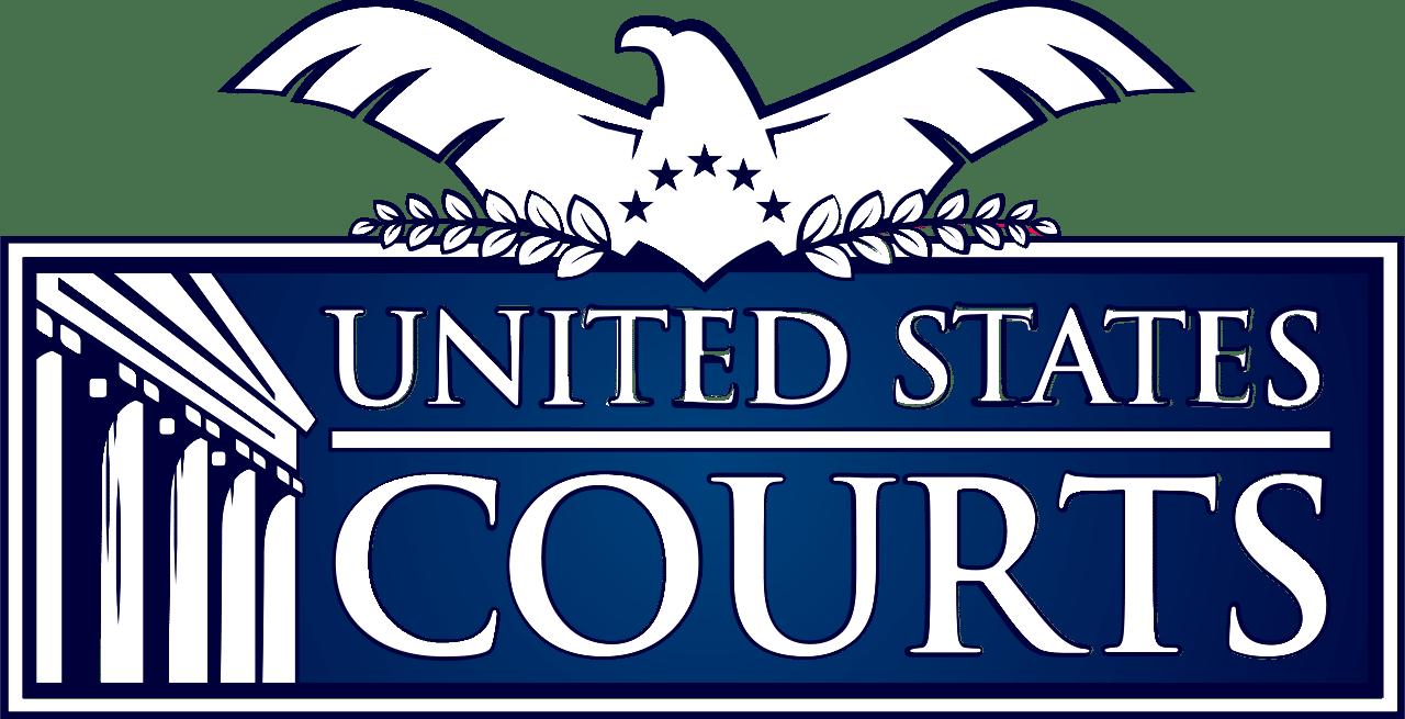 """Logo """"United States Courts"""""""