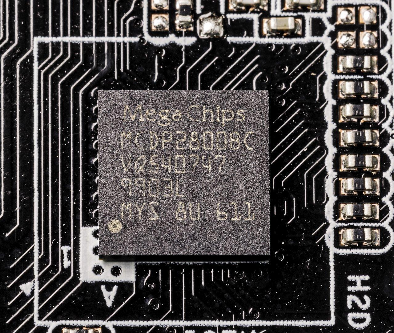 Level Shifter/Protocol Converter MegaChips MCDP2800BC für HDMI 2.0