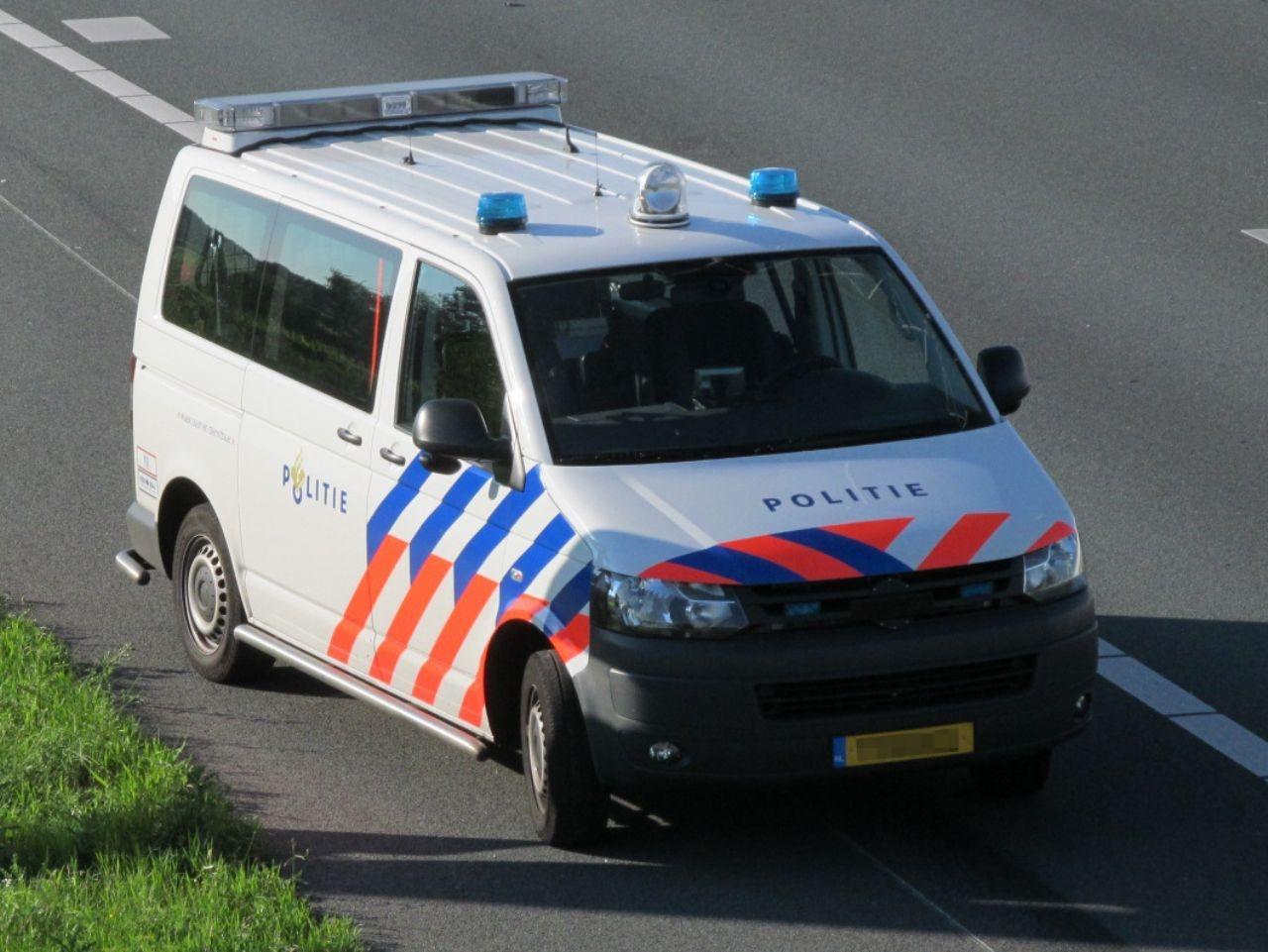 Niederländischer Polizeivan