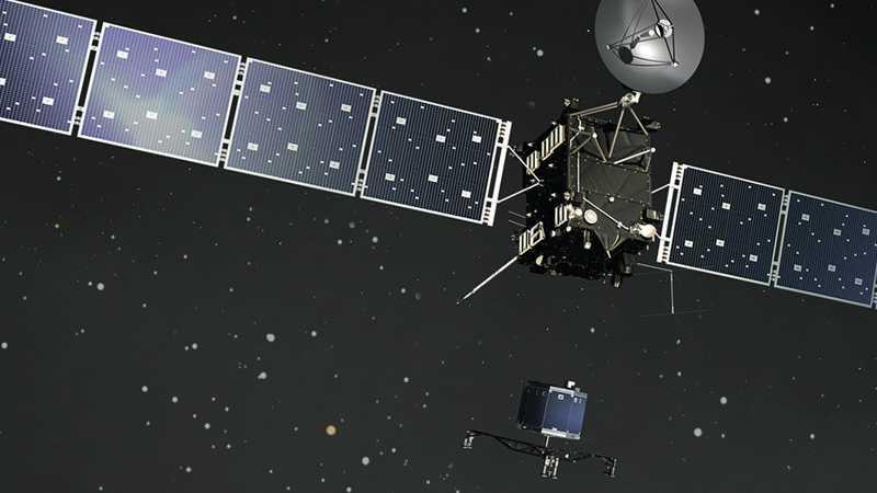 ESA-Mission Rosetta: Ein Besuch bei der ESA