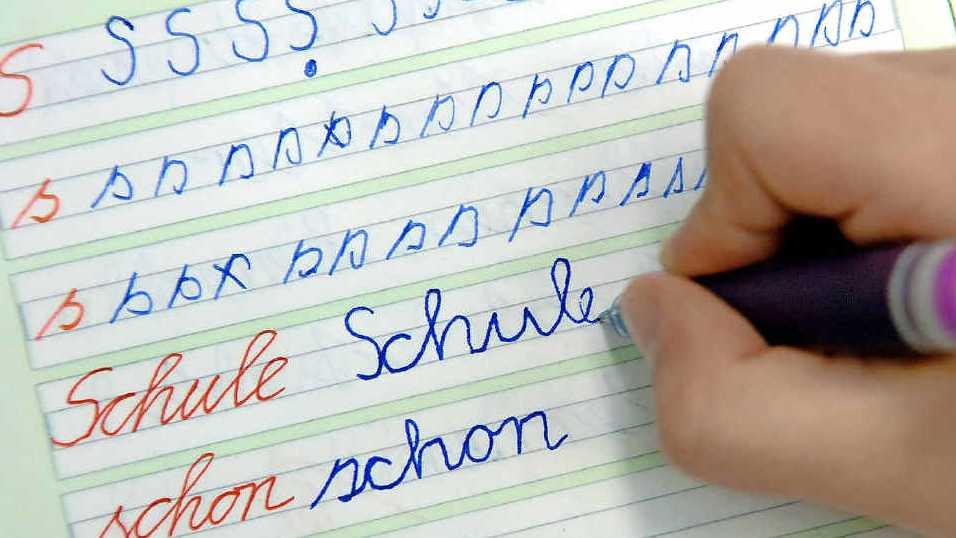 Philologenverband setzt sich für die Schreibschrift ein