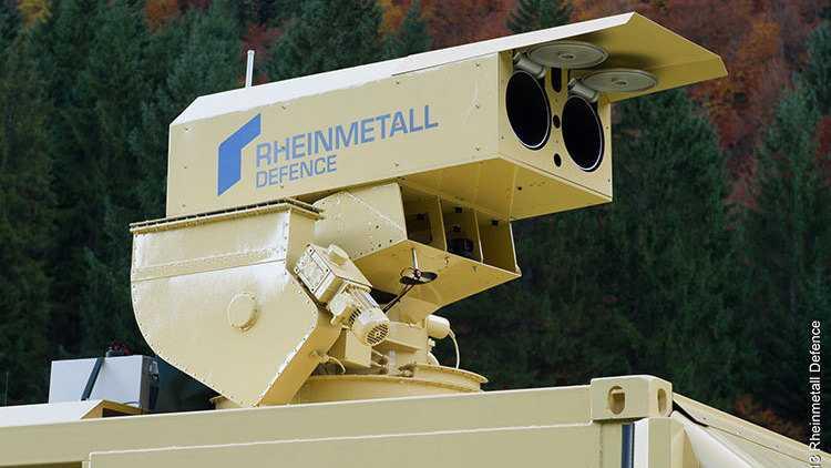 Rheinmetall-Laserkanone