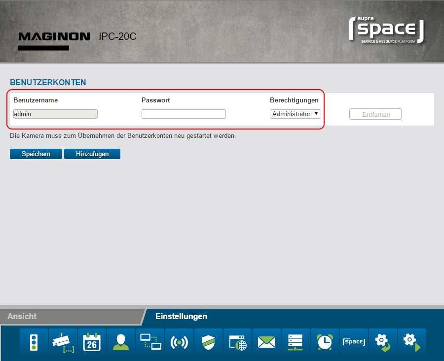 Fatal: Standardmäßig gibt es einen Admin-Account ohne Passwort.