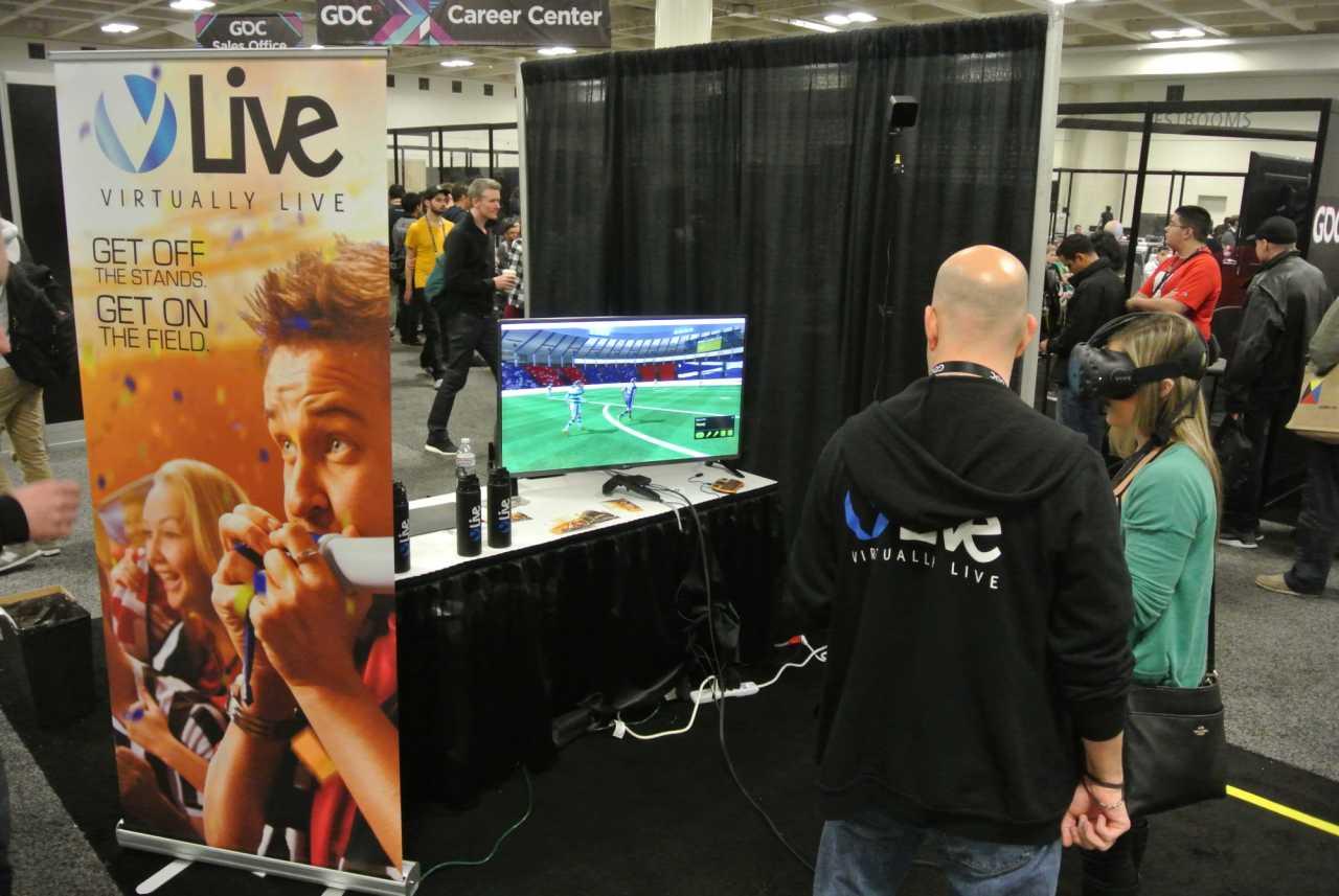 Der auf der GDC gezeigte Portotyp der Software ließ Zuschauer mit der HTC Vive ein virtuelles Spiel von jedem beliebigen Punkt auf dem Spielfeld beobachten.