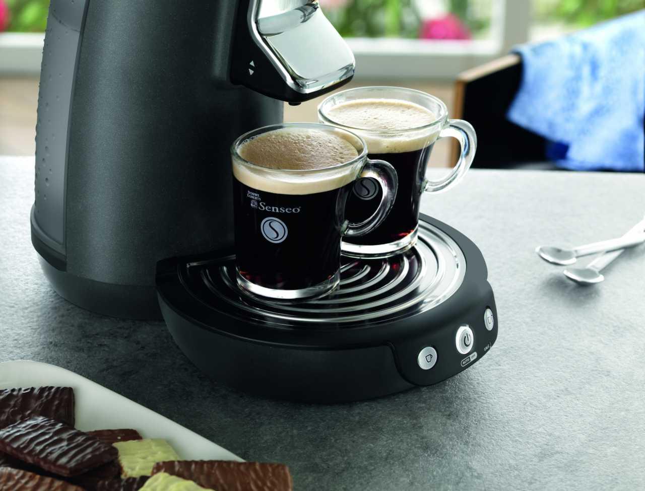 Phiilips feierte große Verkaufserfolge mit der Kaffemaschine Senseo. Doch mittlerweile ist der Mark um Portionsmaschinen heftig umkämpft.