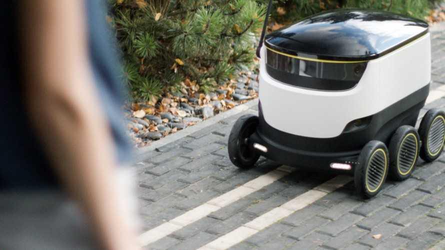 Hermes testet Zustellung per Liefer-Roboter
