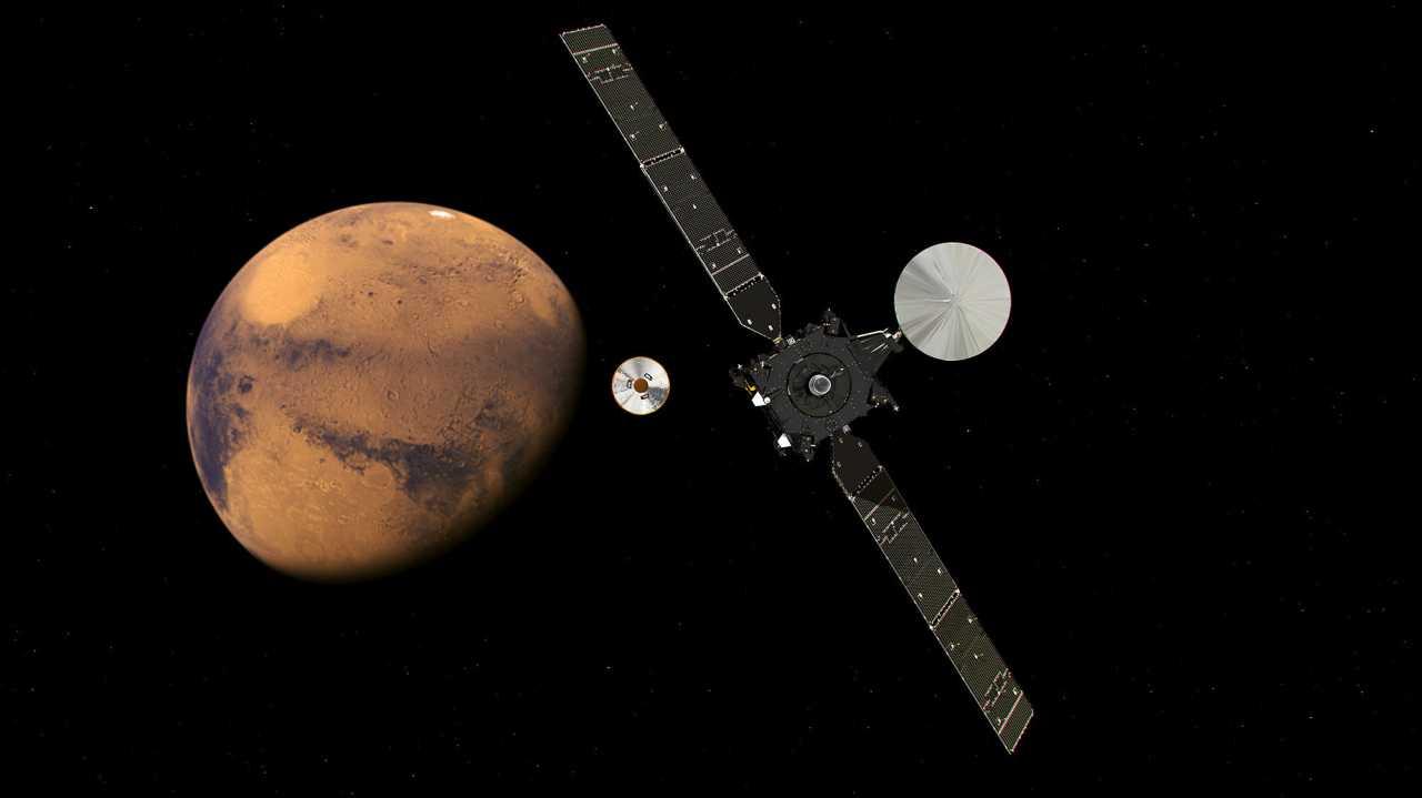 Europäisch-russische Mars-Mission auf der Zielgeraden – Sonde gelöst