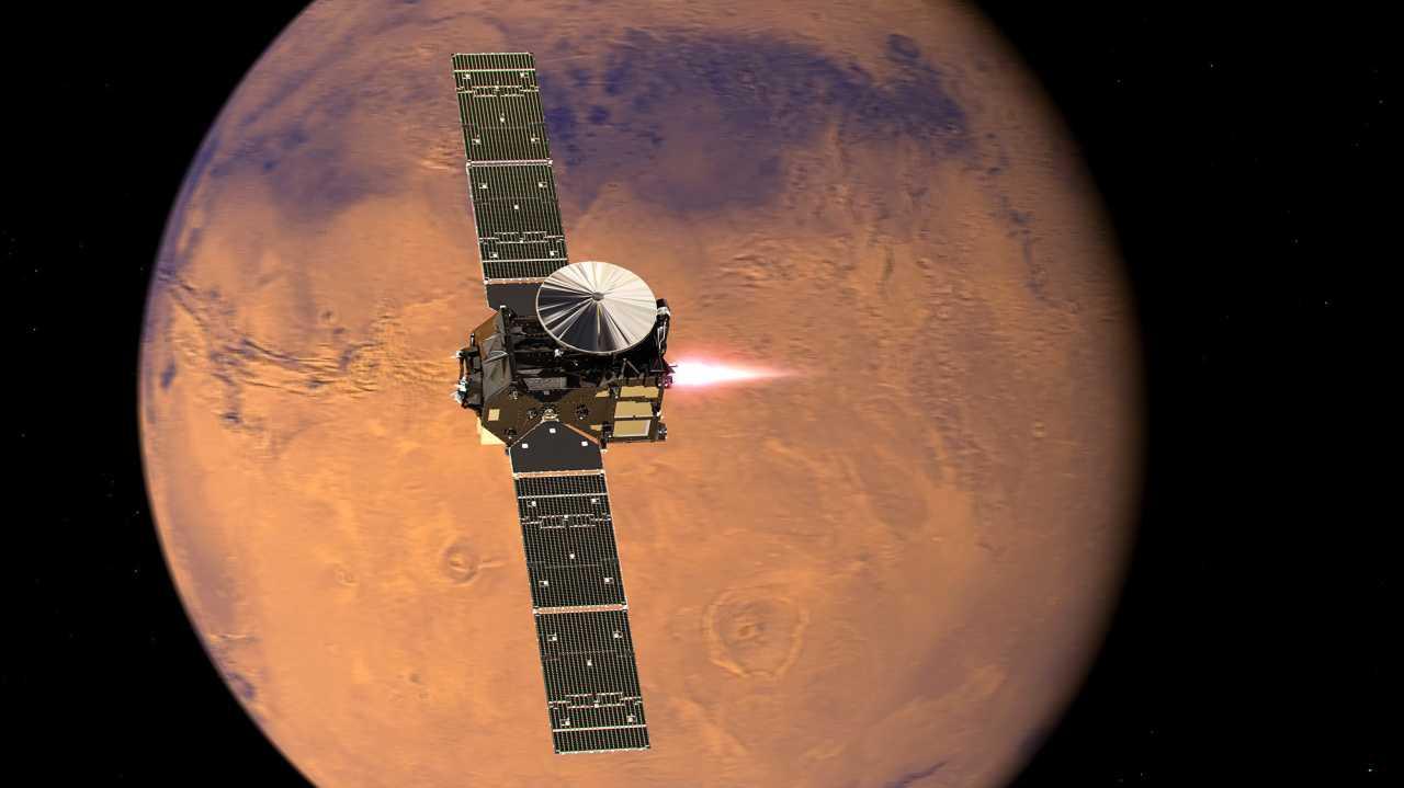 ExoMars am Mars: TGO erreicht Orbit, Schiaparelli landet