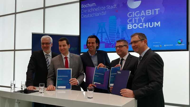 Breitband: Bochum soll erste Gigabit-City Deutschlands werden