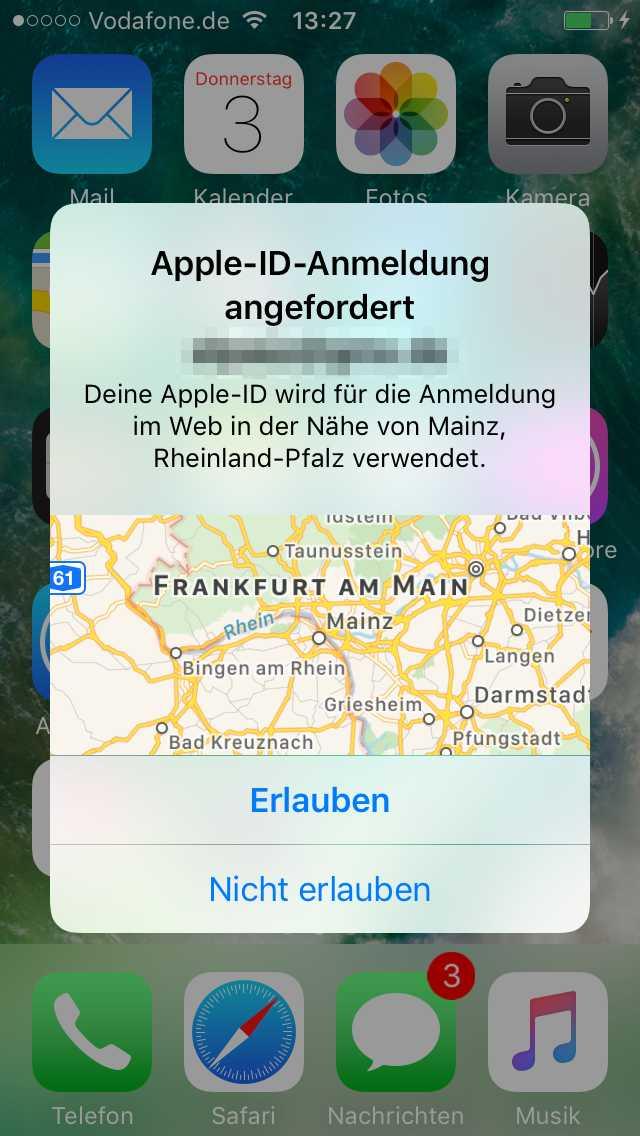 2FA Apple