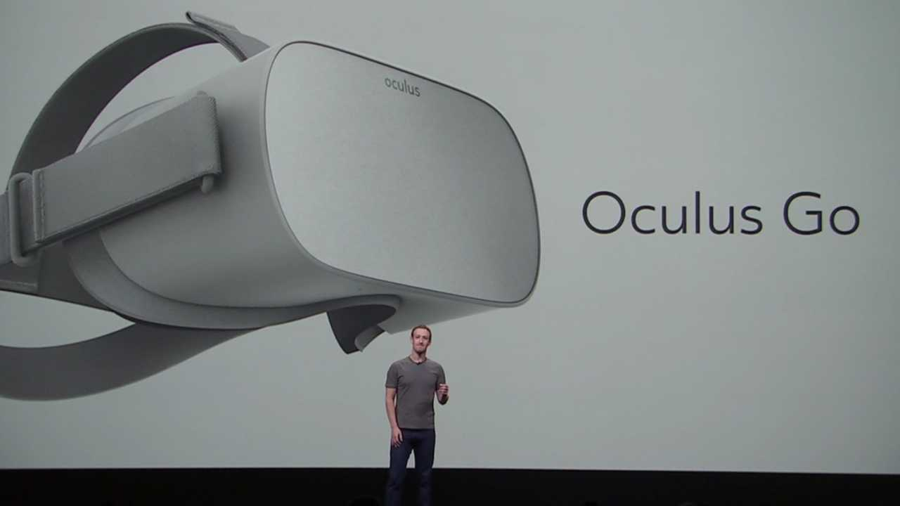 Oculus Go: Autarkes VR-Headset für 200 US-Dollar