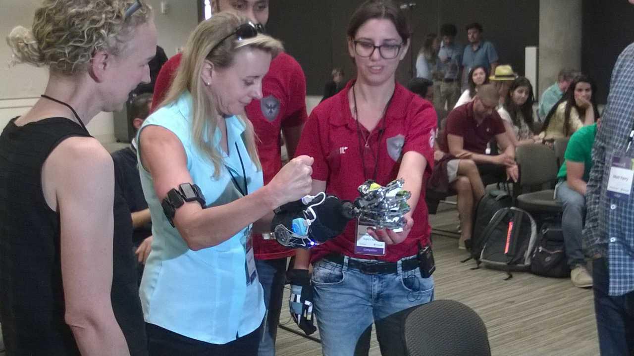 Finale beim Imagine Cup 2016: VR und Mobiles