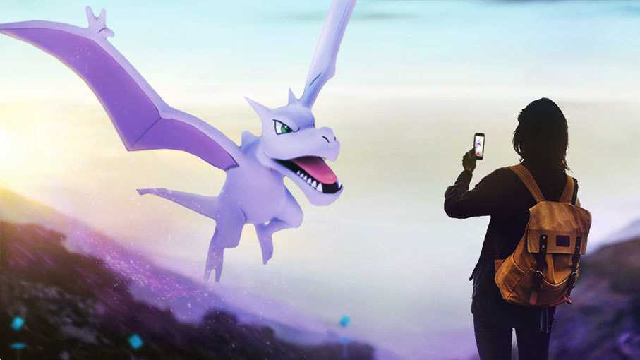 Pokémon Go: Abenteuerwoche mit lila Flugsaurier