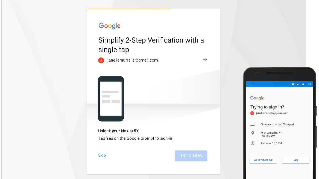 Google will Zwei-Faktor-Authentifizierung ohne SMS