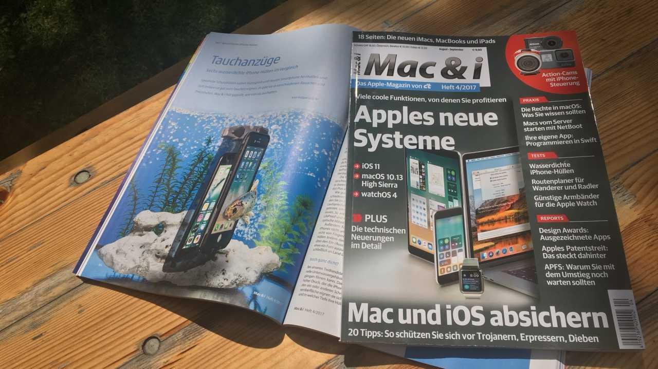 Mac & i Heft 4/2017 vorab im Heise-Shop bestellbar