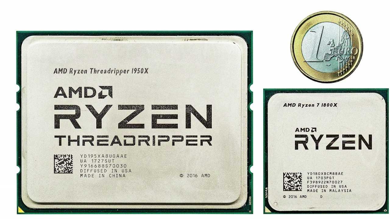AMD Ryzen Threadripper 1950X und Ryzen 7