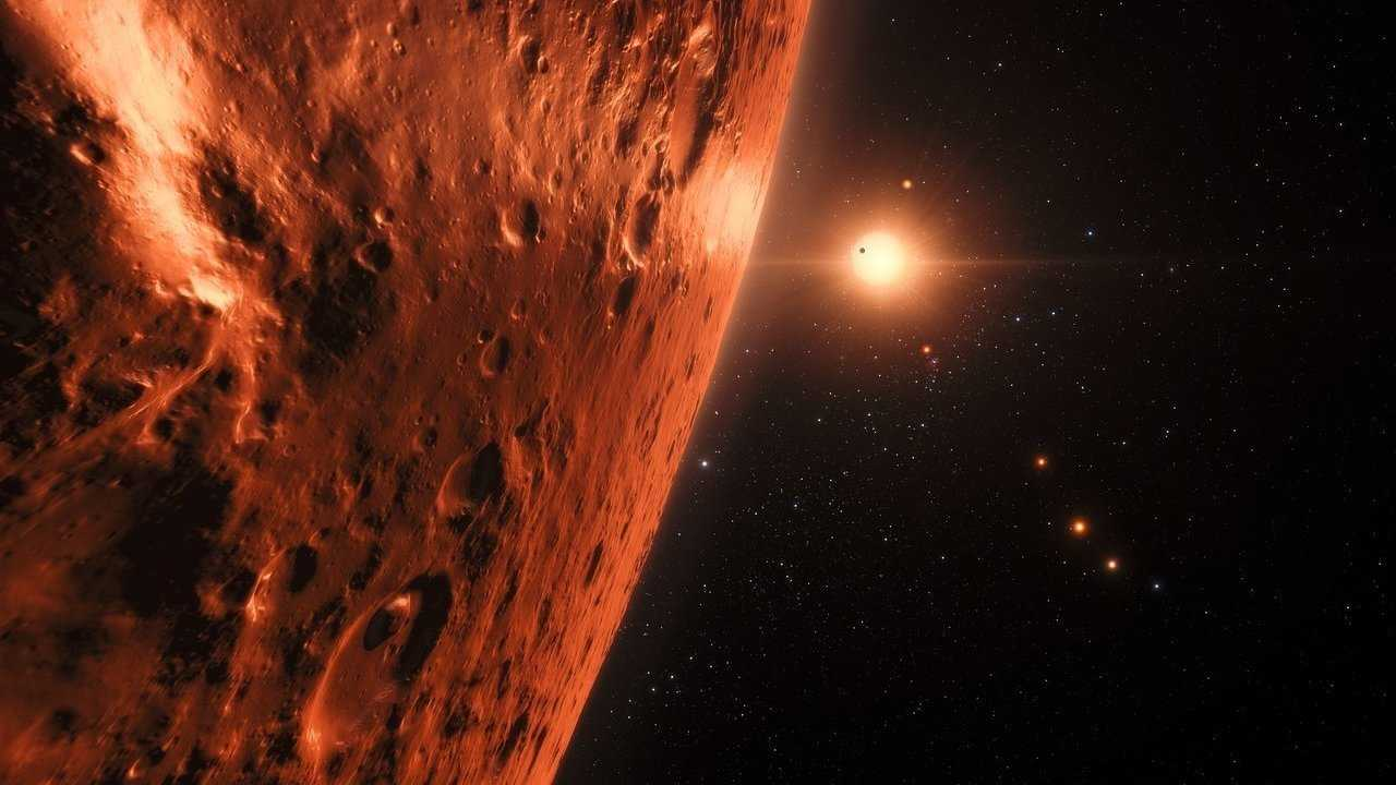 TRAPPIST-1: Hinweise auf Wasser auf exoplaneten in habitabler Zone
