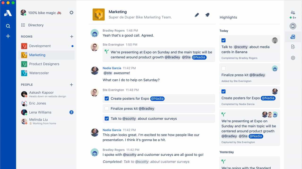 Ein weiteres Werkzeug zur Kollaboration: Atlassian kündigt Stride an