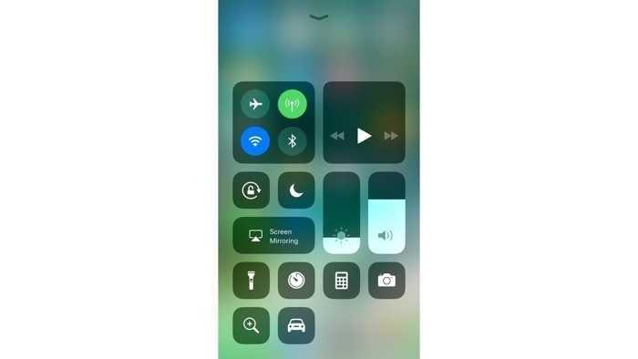 iOS 11: Kontrollzentrum schaltet Bluetooth und WLAN nicht mehr ab