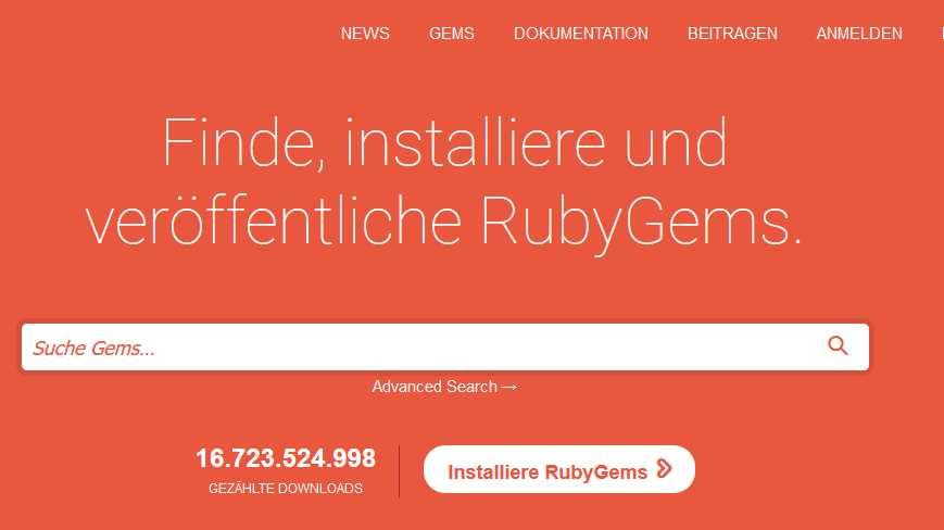 Hosting-Service rubygems.org erlaubte Remote Code Execution