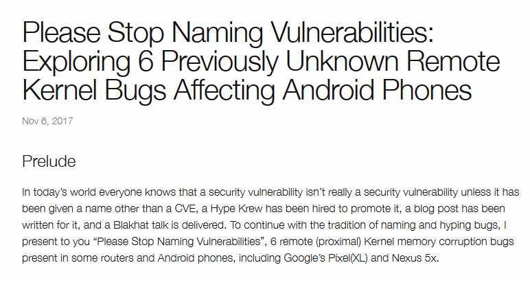 Qualcomm-Atheros: Android-November-Update schließt kritische WLAN-Treiber-Lücken