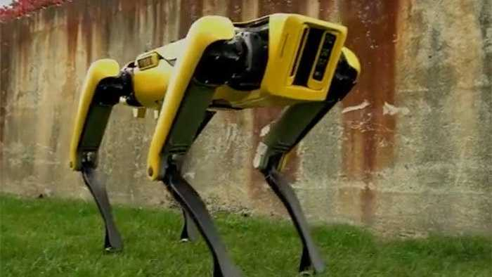 SpotMini: Boston Dynamics zeigt neuen vierbeinigen Laufroboter