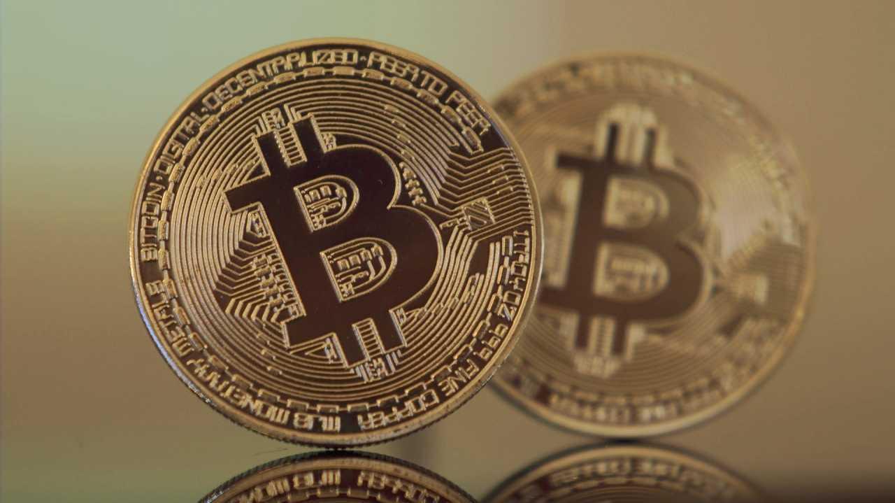 Bitcoin-Münzen