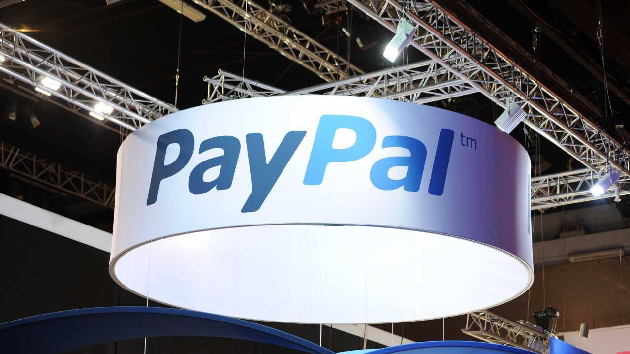 PayPal-Schild