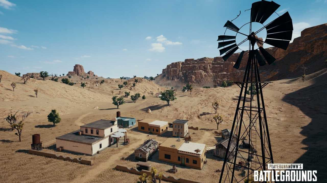 Playerunknown's Battlegrounds: Infos und Bilder zur Wüstenkarte Miramar