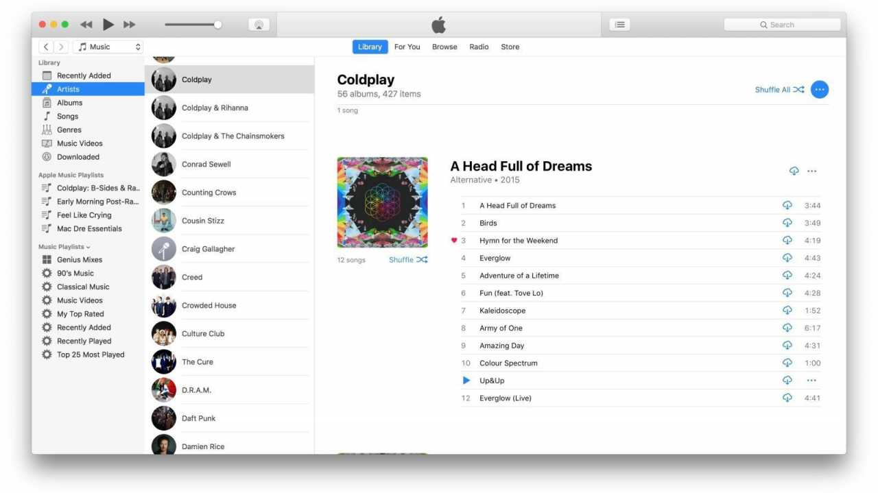 """iTunes 12.7.2: Fehlerbehebungen – und """"mehr Leistung"""""""