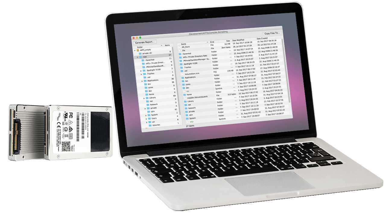 Tool erlaubt Einlesen von APFS-Volumes unter Windows und älteren Macs