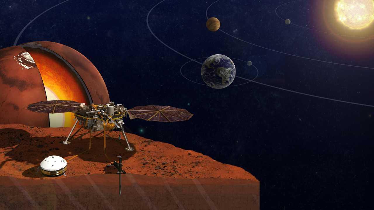2018 geht es für die Nasa zum Mars